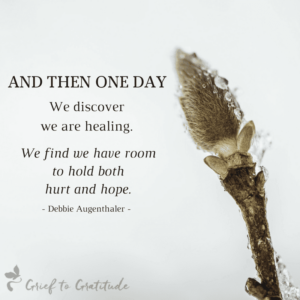finding hope in grief loss leading to growth