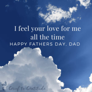 growing through grief fathers day