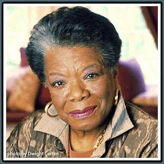 Maya Angelou when great trees fall