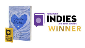 Debbie Augenthaler 2018 Forward Indies Award Winner book cover graphic with seal and Indies branding